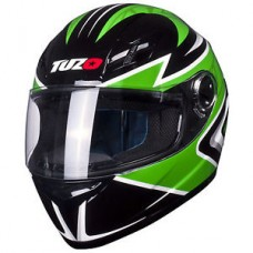 Tuzo Ghost Full Face Helmet Green