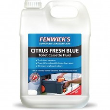 Fenwicks Citrus Fresh Toilet Fluid Blue 2.5 Litre
