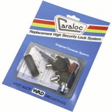 Caraloc Replacement Lock barrel and Four Security Keys