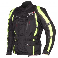 Tuzo Maxico Jacket Black And Yellow