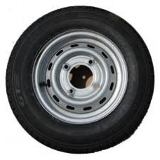 "165 X 13"" Caravan Wheel And Tyre 4 Stud 5 1/2"" PCD"