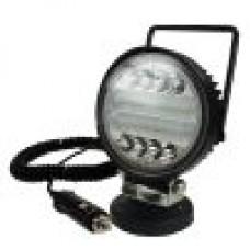 -Magnetic 12/24V 30W LED Work Light-