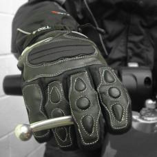 Tuzo TZG4 Motorcycle Gloves Black