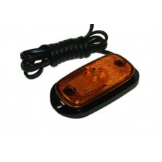 Perei 12/24 volt Amber Side Marker Lamp