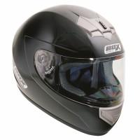 Full Face Crash Helmet Black