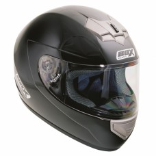 Full Face Motorcycle Crash Helmet Black