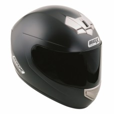 Full Face Motorcycle Crash Helmet Matt Black