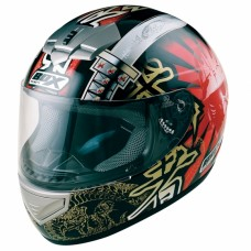 Samurai Full Face Motorcycle Crash Helmet