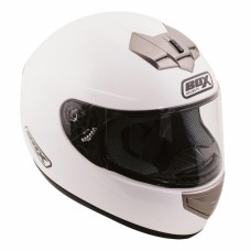 Full Face Motorcycle Crash Helmet White
