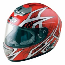 Web Full Face Motorcycle  Crash  Helmet Red