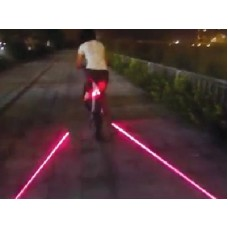 Rear LED cycle light - Laser Road Guidelines