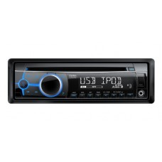 Clarion CZ202E CD/MP3 Car Stereo System with Front USB/AUX Input