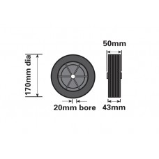 MP 226 Spare  Jockey Wheel