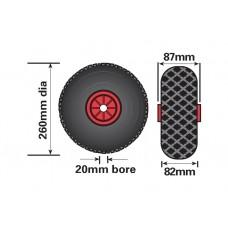 MP229 260mm Pneumatic Jockey wheel