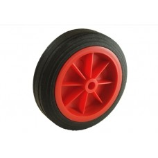 MP 430 150mm red solid Jockey wheel