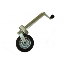 Medium Duty Caravan Jockey Wheel 48mm Including Clamp