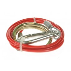 Trailer Breakaway Cable Red 1m x 2mm