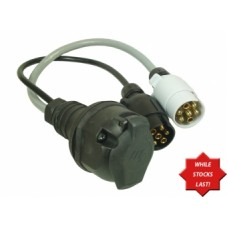 Caravan Adapter Lead 12N and 12S to 13Pin