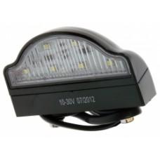 12/24 Volt LED Number Plate Lamp
