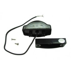 10-30V LED  Number Plate Lamp plus Cable & Clip Base
