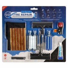 CO2 Tyre Motorcycle Tyre Puncture Repair Kit