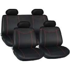 Red Racing Style Full Seat Cover Set