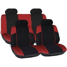 Racing Red Racing Style Full Seat Cover Set