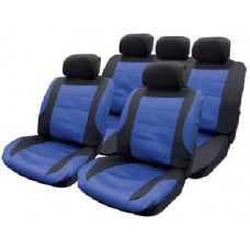 Nebraska  11pce Mesh Seat Covers with 5 Headrest covers