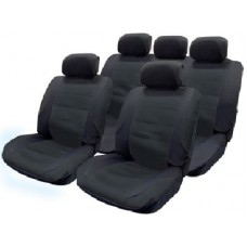 Car Seat Covers 11pce Mesh With 5 Headrest & covers