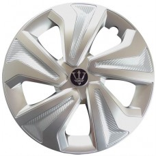 -Silver Farina Wheel Covers-