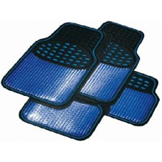 Car Floor Mat Set - Revelation Style - Blue