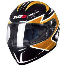 Tuzo Ghost Full Face Helmet Orange