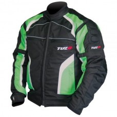 Tuzo TZ-44 Terrain Motorcycle Jacket Green