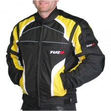 Tuzo TZ-44 Terrain Motorcycle Jacket Yellow
