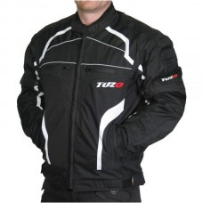 Tuzo TZ-44 Terrain Motorcycle Jacket Black
