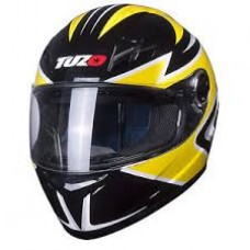 Tuzo Ghost Full Face Helmet Yellow